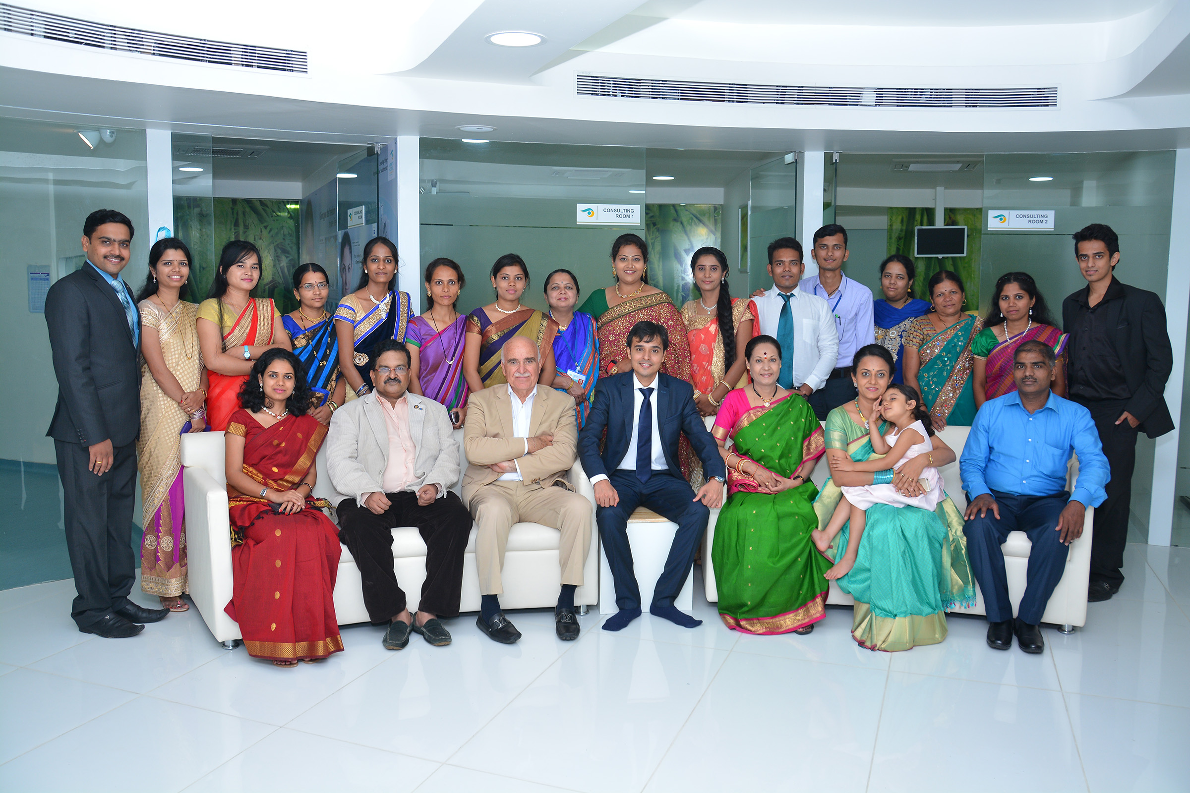 Team of Asian Eye Hospital
